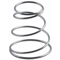 stainless steel conical spring